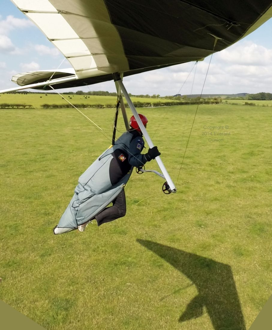 hang glider fun days with Green Dragons
