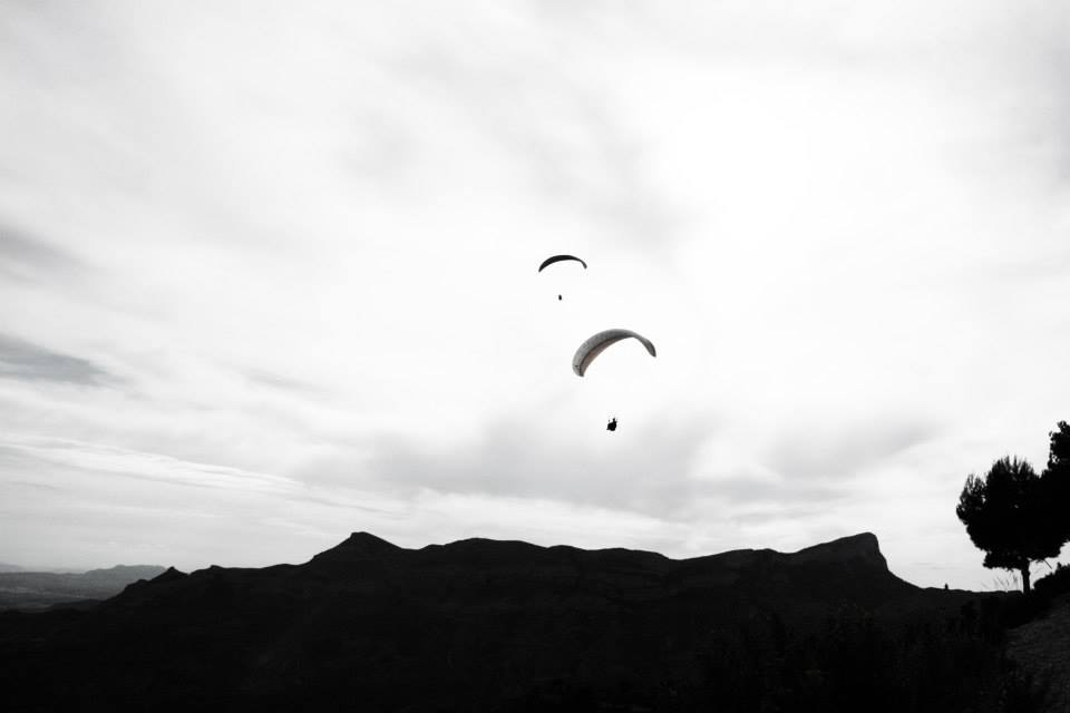 Paragliding thermal chaser holidays with Green Dragons